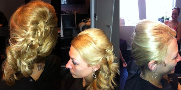 Mindi Wedding Trial Updo West Palm Beach Hair By Zaklina