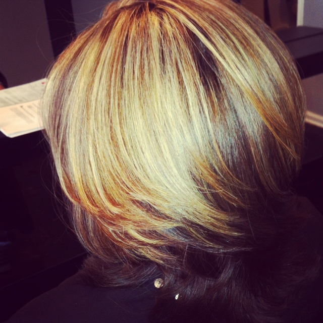 Nancy blonde highlights west palm beach hair salon hair by hair pmusecretfo Choice Image