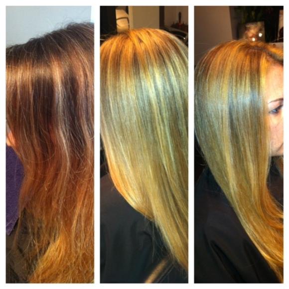 Warm Blonde, Kathy - West Palm Beach Hair Salon