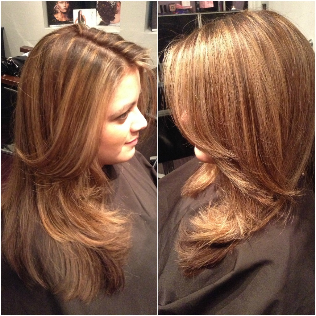 ... , Caramel Highlights – West Palm Beach Hair Salon | Hair By Zaklina