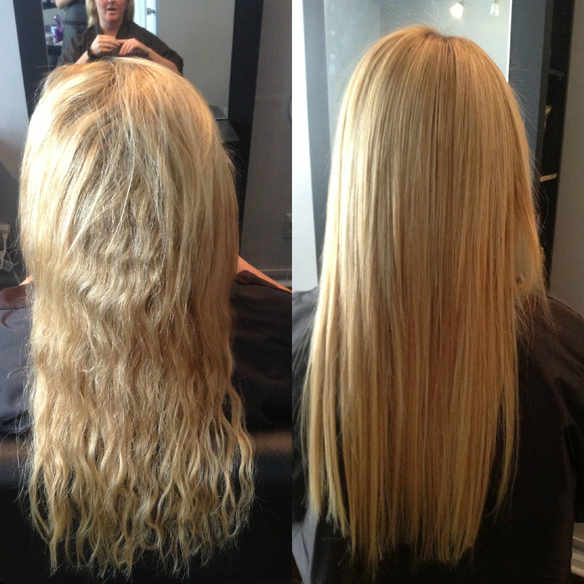 Keratin hair by zaklina - Salon straightening treatments ...