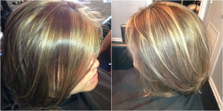 Highlights and lowlights west palm beach hair salon hair by picmonkey collage hair pmusecretfo Choice Image