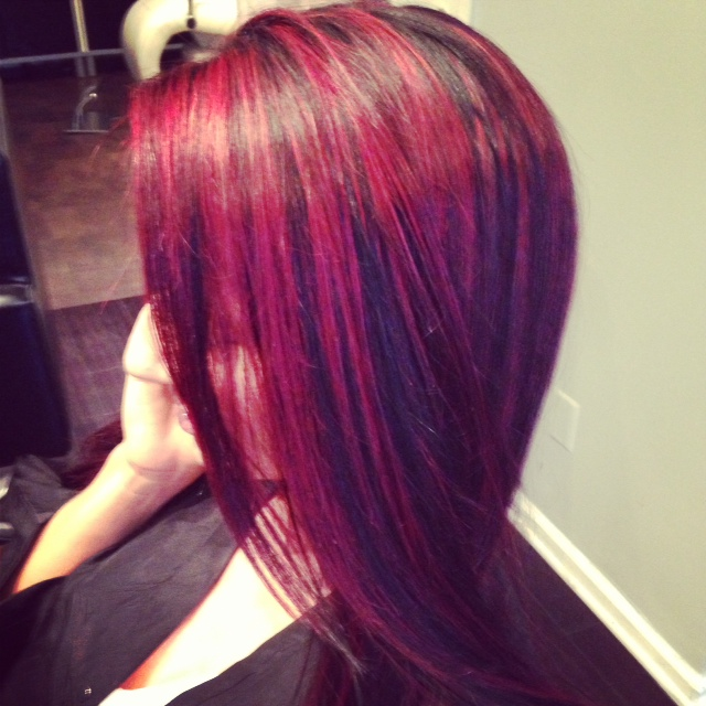 Red Hair Color With Purple Highlights 2015chiaracilli