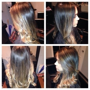 20131122,102527. Balayage highlights are a free hand paint system that gives you a striking natural look!