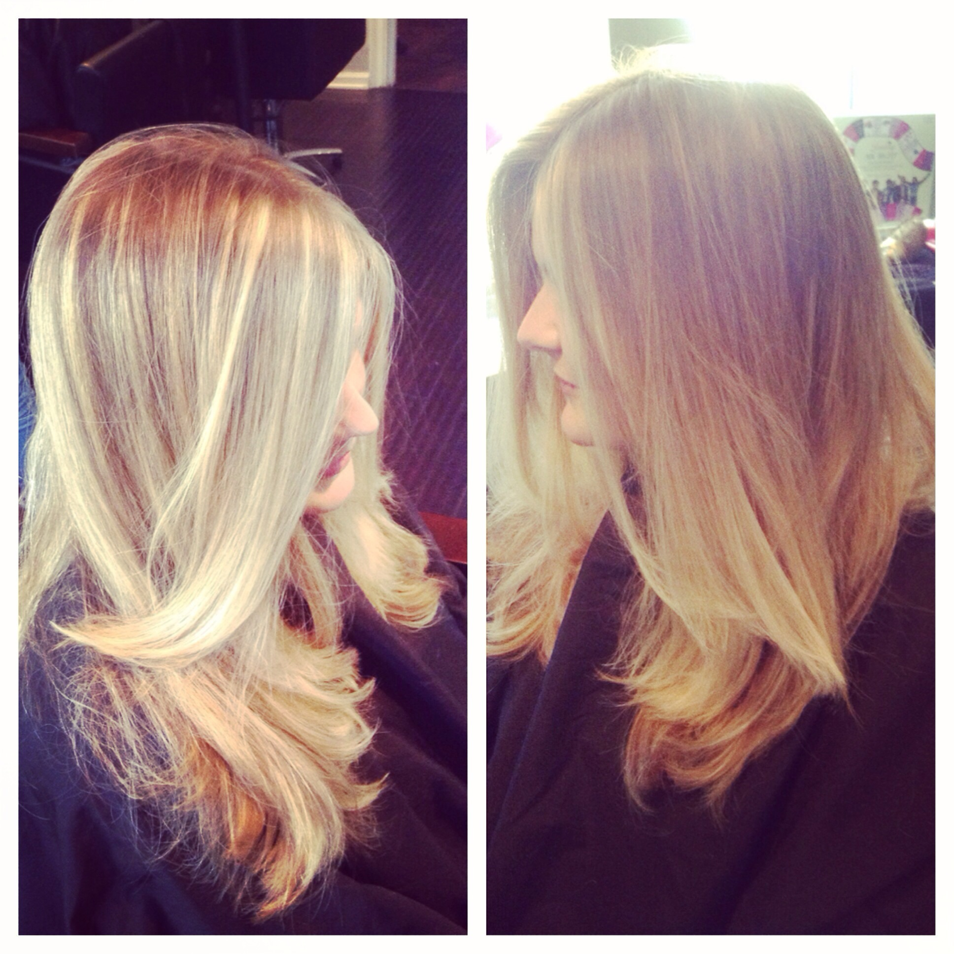 Sombre Blonde Color Color Specialist For Palm Beach Hair By Zaklina