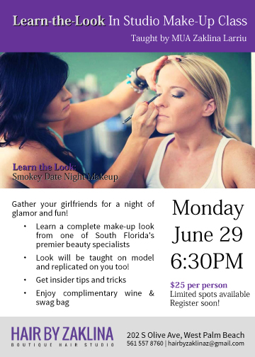 Make-up Class Flyer
